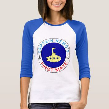Captain Nemo's First Mate funny T-Shirt