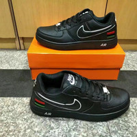 """""""Nike Air Force 1"""" Unisex Sport Casual Multicolor National Flag Low Help Shoes Sneakers Couple Plate Shoes"""