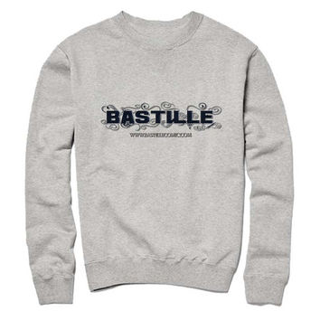 bastille logo Sweatshirt Crewneck Men or Women for Unisex Size