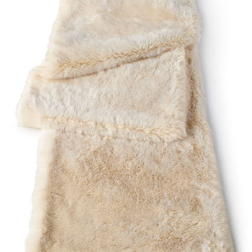 Faux-Mink Table Runner - Neiman Marcus