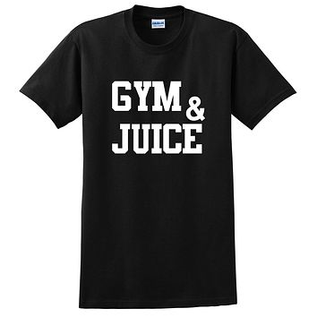 Gym and juice, workout clothing, gym, fitness, yoga T Shirt