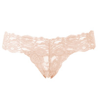 Lacey Deep Lace Thong - Lingerie & Nightwear - Clothing - Topshop
