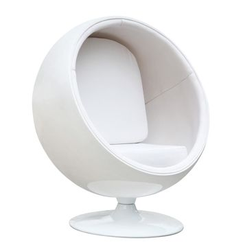 Ball Chair, White