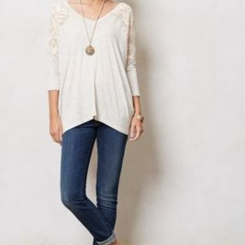 Colombe V-Neck by Dolan Light Grey Xs Tops