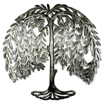 Weeping Willow Metal Art