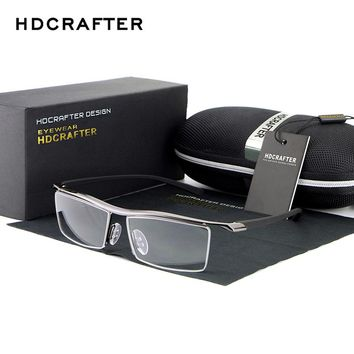 HDCRAFTER 2017  Reading Glasses Frame Optical Computer Radiation-Resistant Myopia Eyeglasses Plain Mirror Sunglasses oculos