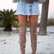 CHINESE LAUNDRY Bachelorette Toffee Thigh High Boots