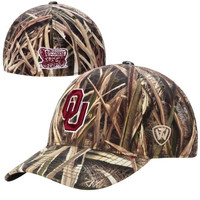Oklahoma Sooners Top of the World Blades Memory Fit Flex Hat – Camo