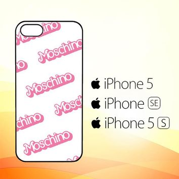 moschino pattern Z5297  iPhone 5|5S|SE Case