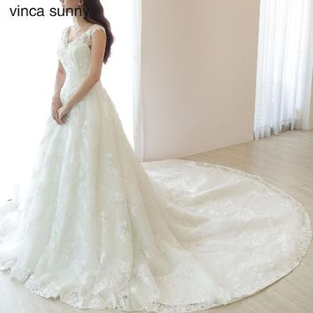 vinca sunny Bridal Gowns Zipper Back Wedding Boho Dress