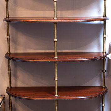 Retro French Bistro Shelves
