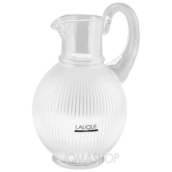 Lalique Langeis Crystal Pitcher 1537200