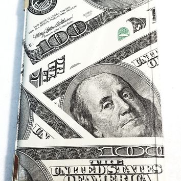 Benjamin Franklin ($100) One Hundred Dollar Bill (2)Bi-Fold Wallet