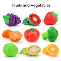 Simulation fruits and vegetable Increase baby's knowledge over every family toys kitchenware toys
