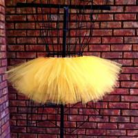Reagan Tutu - Yellow Adult Tutu - Neon Tutu - Custom Tutu - Available in Infant, Toddlers, Girls, Teenager and Adult Sizes