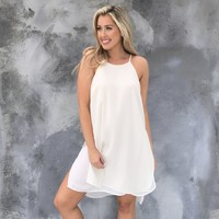Wild Heart Cream Shift Dress