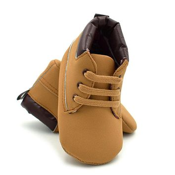 Baby Boy Shoes Children Newborn Baby Toddler Keeping Warm Casual Shoes