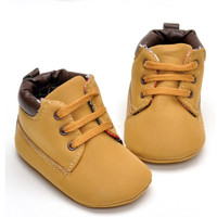 Baby Boy Infant Soft Sole Boots