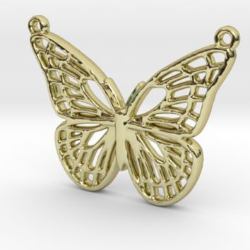 The butterfly by Jilub on Shapeways
