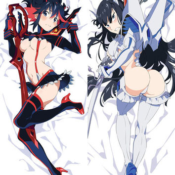 New Ryuko Matoi - Kill La Kill Anime Dakimakura Japanese Pillow Cover H2671