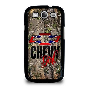 CAMO BROWNING REBEL CHEVY GIRL Samsung Galaxy S3 Case Cover