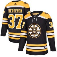 Men's Boston Bruins Patrice Bergeron adidas Black Authentic Player Jersey