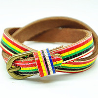 fashion Adjustable  leather Bracelets mens bracelet cool bracelet jewelry bracelet bangle bracelet  cuff bracelet 2276S
