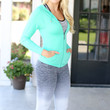 Get Fit Seamless Jacket - Green