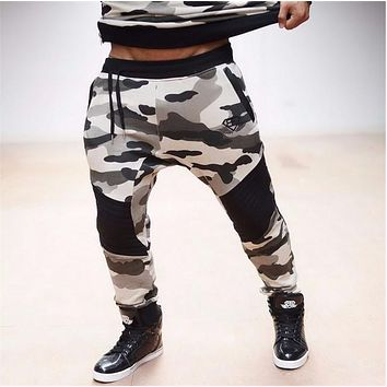 Men's Camouflage Joggers Military Pants Trousers Sweat Pants For Men