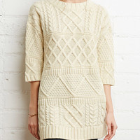 Cupshe After Party Knit Long Sweater