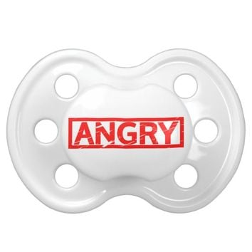 Angry Stamp Pacifier