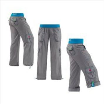 Zumba Fitness Highlighter Cargo Pants - Silver at McCarley Fitness