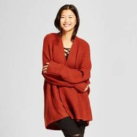 Women's Oversized Cocoon Cardigan - Mossimo Supply Co.™ Rust