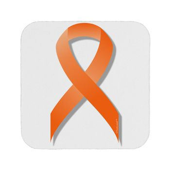 Leukemia Awareness Ribbon - Orange Coaster