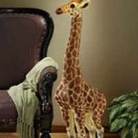 Home Decor | Heads Above Giraffe Floor Lamp