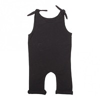 Black Tie Girls Romper for Babies and Toddlers