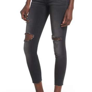 STS Blue Emma Ripped Crop Jeans (Canal Canyon) | Nordstrom