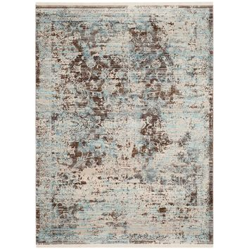 Safavieh Vintage Persian Brown/Light Blue 4 ft. x 6 ft. Area Rug-VTP417T-4 - The Home Depot