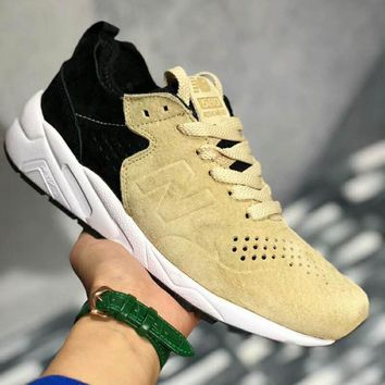 NEW BALANCE Men Fashion Casual Running Sport Shoes Sneakers Shoes Beige Black G-PSXY