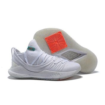 Under Armour Sc30 Stephen Curry 5 Low White Basketball Shoe   Best Deal Online