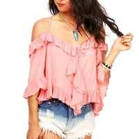 Boho Breeze Blouse | Trendy Clothes at Pink Ice