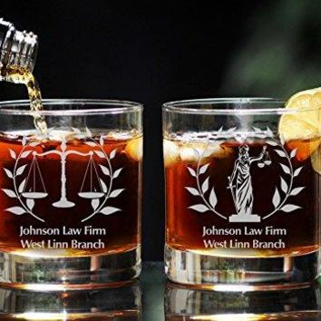 Lawyer, Lawyer gift, Lawyer whiskey glass, Gift for Lawyer, Scales of Justice, Attorney, Attorney gift