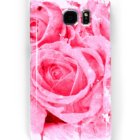 'roses pleureuses/weeping roses' Coque et skin Samsung Galaxy by clemfloral