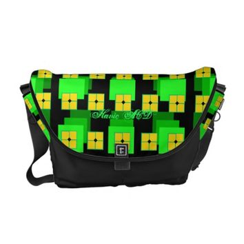 RICKSHAW MESSENGER 3D HAVIC ACD MESSENGER BAG