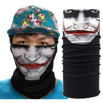 New Outdoor Sports Cycling Face Mask Warmer Cycling Bike Bicycle Riding Head Scarf Halloween Scarves Bandana