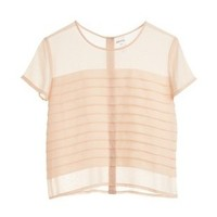 Monki Sheer Blouse