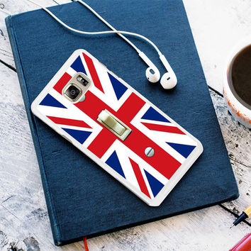 British Flag switch plate Samsung Galaxy S7 Case Planetscase.com