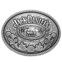Jack Daniels Old No 7 Belt Buckle Round