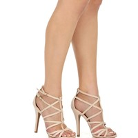 Naturally Strappy Heels