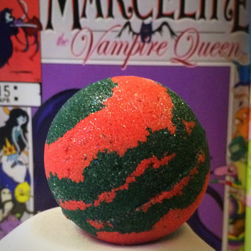 Marceline's Midnight Pomegranate Bath Bomb